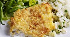 Filet de poisson blanc pané au parmesan WW, recette d'un bon plat de poisson léger cuit au four, facile et simple à réaliser, à servir avec une sauce de poisson légère et une bonne salade.