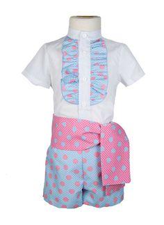 35db9a05d5 Las 44 mejores imágenes de Trajes de gitano niño pantalón corto en ...