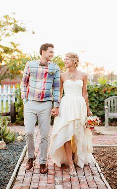 High Low Hem Wedding Dress!