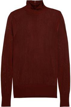 DKNY OPEN-KNIT TURTLENECK SWEATER £105 http://www.theoutnet.com/product/949410