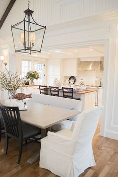 Dining And Kitchen Area In The HGTV 2015 Dream Home On Marthas Vineyard