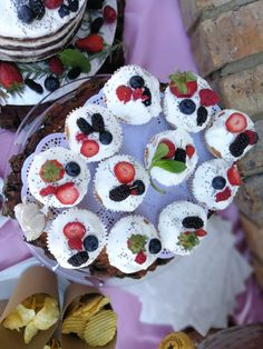 Vanilla cupcakes with light cream and berries topping. Mulberry, blueberry, raspberry and strawberry Berry Cupcakes, Vanilla Cupcakes, Raspberry, Strawberry, The Bedford, Light Cream, Blueberry, Berries, Desserts