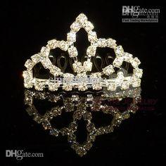 Rhinestone Tiara Comb Crown Tiara Crystal Hair Jewelry Assorted Styles $1.22   DHgate.com