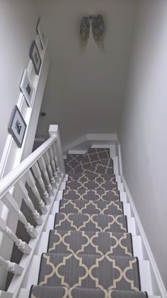 Axminster Carpets Royal Borough Trellis Steel Mid Grey Stair Runner