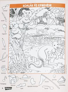 Colouring Pages, Coloring Sheets, Adult Coloring, Coloring Books, Hidden Pictures Printables, Hidden Games, Hidden Picture Puzzles, Geography For Kids, Kids English