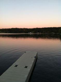 My favorite swimming hole. Bashan Lake Moodus,Ct