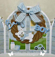 Marianne Design, Baby Cards, Hanukkah, Stencil, Wicker, Baby Boy, Wreaths, Babies, Boys
