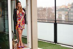 Chiara Ferragni, autora de The Blonde Salad, en 7días/7looks: Truco de estilismo, chaqueta masculina