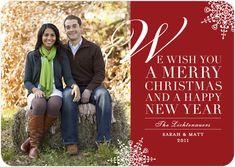 couple pose/Christmas card