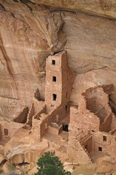 Photographic Print: The Ruins of a Cliff Dwelling, Square Tower House, in Mesa Verde National Park by Phil Schermeister : Seychelles, Belgium Tourism, Most Visited National Parks, Escalante National Monument, Scotland Castles, Tower House, Travel Oklahoma, Ancient Ruins, New York Travel