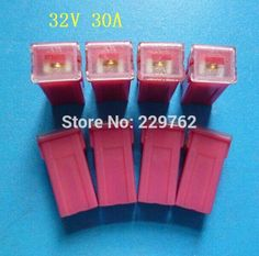 Free shipping 10PCS with high quality 30A car fuse link auto fuse link PAL Pacific Automotive link female fuse connector