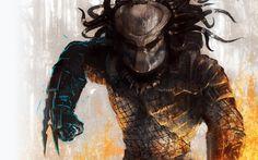 predator fantasy art artwork Alien  / 1920x1200 Wallpaper