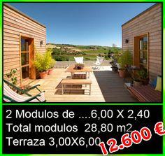 Módulos con terraza - Mobilhomes y Caravanas ocasión Tarragona