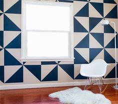Removable Triangle Wall Decals by MUR in main interior design home furnishings art Category