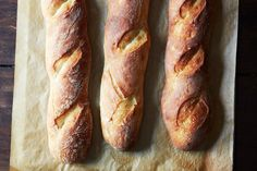 Dan Leader's 4-Hour Baguette - Genius Bread Recipes