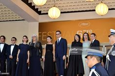 Gael Garcia Bernal, Jia Zhangke, Sofia Coppola, Jane campion, Jeon Do-yeon, Nicolas Winding Refn, Leila Hatami, Carole Bouquet and Willem Dafoe attend the Closing Ceremony and 'A Fistful of Dollars' Screening during the 67th Annual Cannes Film Festival on May 24, 2014 in Cannes, France.