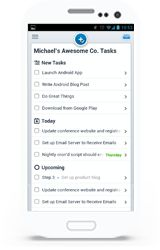 """Asana is a project management tool that offers """"teamwork without email""""... Connects team with what's going on, current priorities and which team member is responsible for each aspect of priority... Divide by Project, Tag and Team Member to break projects into manageable tasks, where each """"what"""" is assigned both a """"when"""" and a """"who"""" for its completion"""