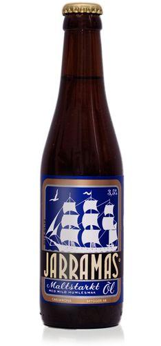 CARLSKRONA JARRAMAS Jarramasölen är en ljus, välbalanserad och lättdrucken folköl med tydliga citrustoner, markerad beska och torr avslutning. En maltstark törstsläckare.