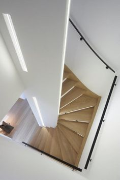 Home Sweet Home. I love this kind of architecture Stairs Architecture, Residential Interior Design, Sweet Home, Tiny House, Building A House, Staircase Ideas, Hallways, House Ideas, Home Decor