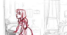 2D Traditional Animation - Habib Louati