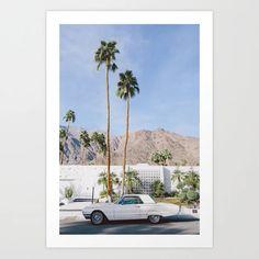 Palm Springs Mid Century Modern 2 Art Print by cschoonover. #affiliate Canvas Wall Art, Canvas Prints, Art Prints, Palm Springs Mid Century Modern, Spring Art, Mid Century Art, Living Room Art, Home Art, Mid-century Modern