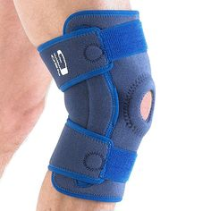 The Neo G Stabilised Hinged Open Knee Support with heat therapy has a two point geared hinge system to help control flexion and extension movements whilst reducing unwanted medial and lateral instability.