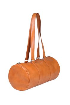 #Mandarin www.marhandbags.pl #barrel #barrelbag #cylinder #leatherbag