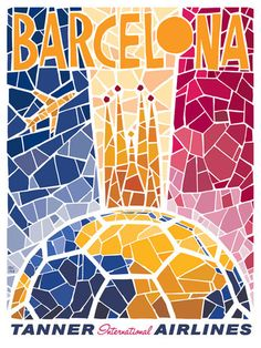 Fly Barcelona /// by Eric Tan
