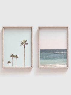 Set of 2 PrintsHome DecorLarge Wall ArtPrints Wall Cool Wall Art, Beach Wall Art, Diy Wall Art, Large Wall Art, Framed Wall Art, Wall Art Decor, Fotografia Fine Art, Wal Art, Beach Print