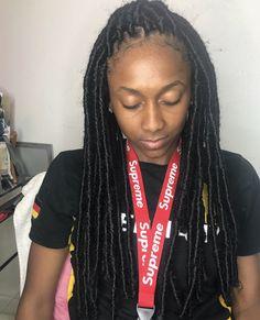 Faux Locks, Sew In Hairstyles, Braids, Dreadlocks, Hair Styles, Beauty, Beleza, Cornrows, Dreads