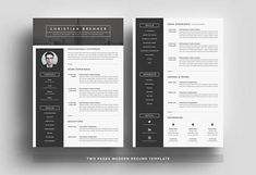 Welcome to the White Graphic! We create templates that help you make a lasting impression when applying for your dream career. We aim for sophistication and elegance with a modern twist, combined with a thoughtful design with plenty of space for all your text content.