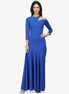 Wear your style Best Online Fashion Stores, Online Shopping Sites, Jumpsuit Dress, Buy Shoes, Shoe Brands, Blue Dresses, Party Dress, Cold Shoulder Dress, High Neck Dress