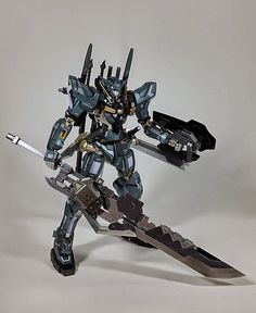 NG 1/100 Gundam Exia Ver. Thirteen Sword - Custom Build
