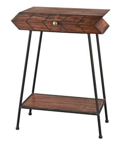 Look at this Arrow Accent Table on #zulily today!