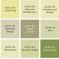 Green Colour - Interior Green Paint Colors | Sico