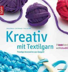 Kreativ mit Textilgarn made by heartflower - Wolle via DaWanda.com