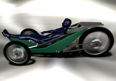 The Land Rover XR-3 Recumbent Bike, as entered into the 2009 Land Rover Bicycle Design Competition.  This design received one of 5 commendation prizes as judged by members of the Land Rover design and...