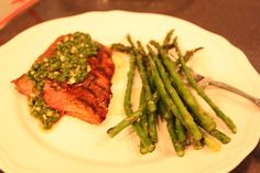 Flank Steak with Chimichurri Sauce - 4 points plus on Weight Watchers