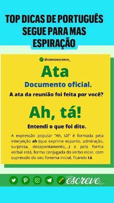 Lettering Tutorial, Portuguese, Public, Language, Study, Writing, Memes, Math Lessons, School Tips