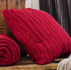 Gallery Direct Arran Red Cushion