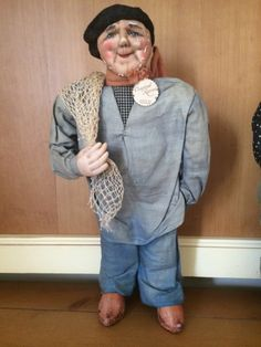 Antique Bernard Ravca 15'' Old Man #BernardRavca