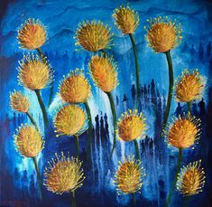 Pincushions (Trouble in Paradise) 2020 Our fynbos is under treat with people squatting high up in the mountains in the Cape Province Fun Travel, Pincushions, Cape, Paradise, Paintings, Watercolor, Mountains, People, Mantle