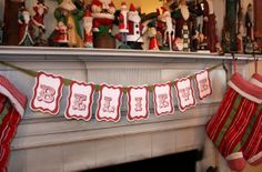 50  Creative Christmas Printables Collection. Believe banner free printable.