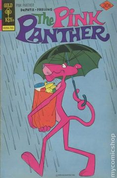 Pink Panther --- You could try returning (& or replacing) my comic books. Vintage Disney Posters, Vintage Comic Books, Vintage Cartoon, Vintage Comics, Retro Wallpaper, Cartoon Wallpaper, Panthères Roses, Pink Panter, Cartoon Posters