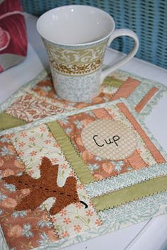 So easy to use the ideas as quilt labels
