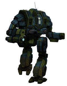Mechwarrior Online. Cataphract CTF-1X