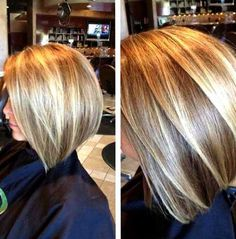 15 Highlighted Bob Hairstyles - http://www.laddiez.com/health-beauty-tips/15-highlighted-bob-hairstyles.html - #Hairstyles, #Highlighted