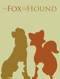 The Fox and the Hound by =Citron--Vert on deviantART