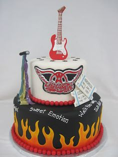 Heather's Cakes and Confections: Aerosmith