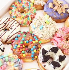 photo via pinterest CALIFORNIA DONUTS 3540 W 3rd St. Los Angeles, 90020 Okay – no joke guys.. you HAVE to go to this donut shop. Donuts are my favorite breakfast treat and what's better than a cereal